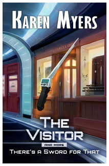 Image of The Visitor, And More, a science fiction short story bundle by Karen Myers